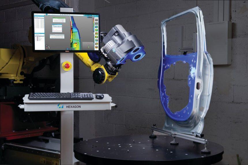 Nuevo sistema de medición automatizada de Hexagon Manufacturing Intelligence