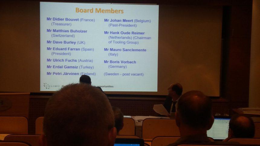 Eduard Farran es nombrado nuevo presidente de CELIMO en la Asamblea General celebrada en Helsinki