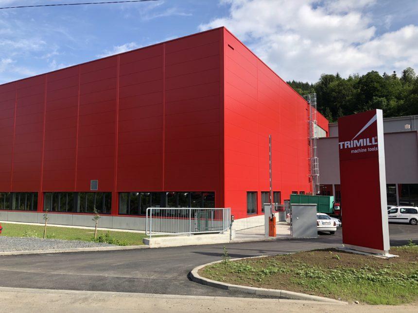 Maquinaria Márquez presente en la inauguración de la nueva planta de Trimill