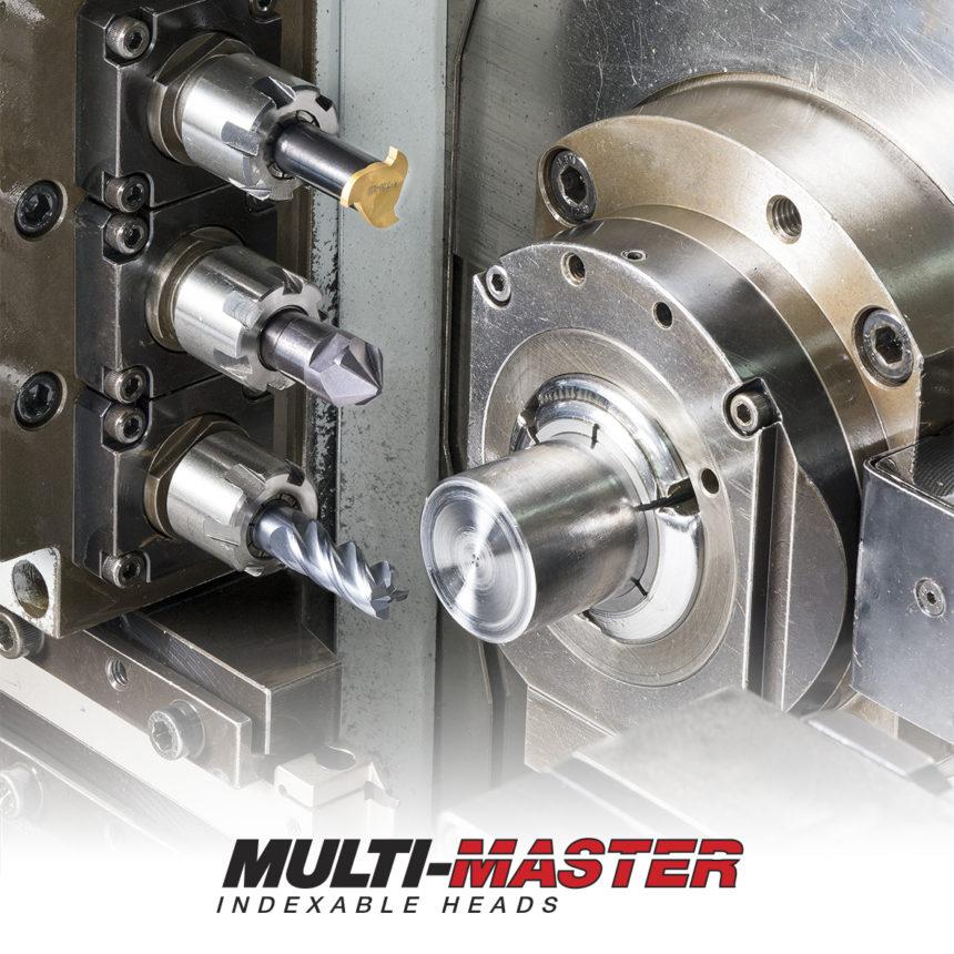 MULTI-MASTER – 15000 Configuraciones Diferentes con Infinidad de Opciones para el Mecanizado de Piezas Pequeñas