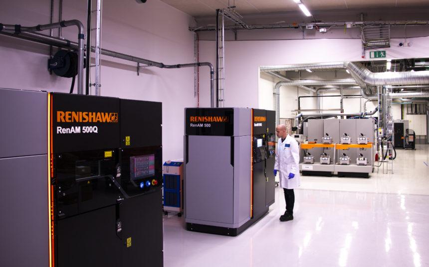 Renishaw y Sandvik impulsan el futuro de la fabricación aditiva metálica