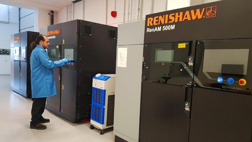 Renishaw amplía su red de Centros de Soluciones de Fabricación Aditiva en Europa