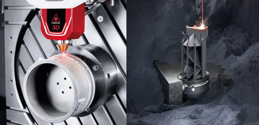 DMG MORI presenta soluciones completas en Additive Manufacturing de componentes metálicos