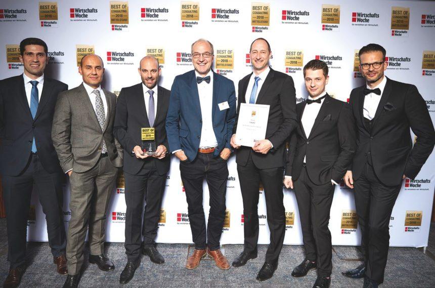 Tebis Consulting obtiene el primer puesto en el ranking de la revista Wirtschaftswoche