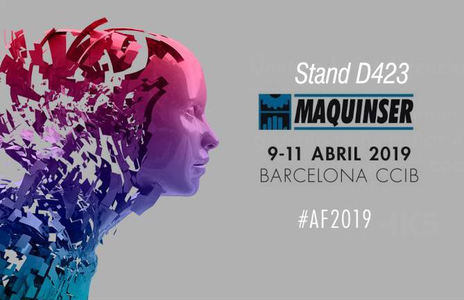 Maquinser estará en la AdvancedFactories 2019