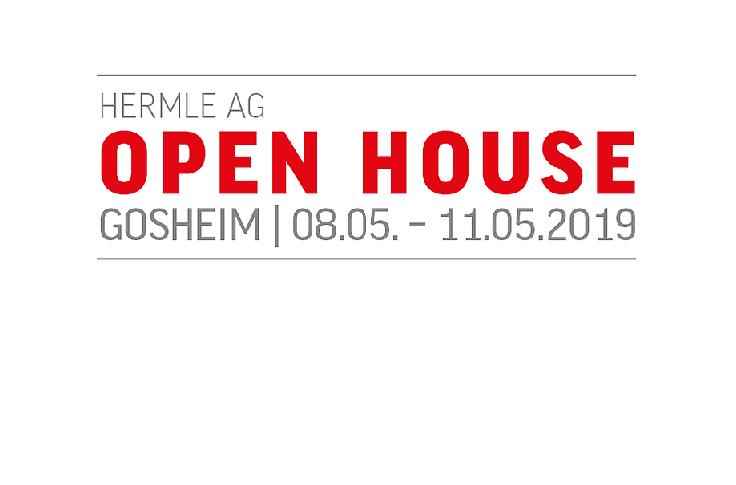 HERMLE organiza su Open House en Gosheim los días 8 al 11 de mayo