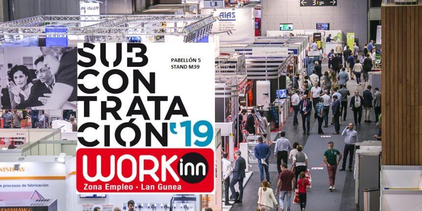 AIMHE participa en la feria Subcontratación '19 y el foro de empleo Workinn