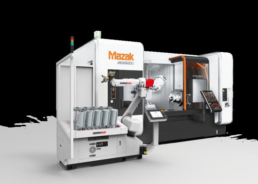 Intermaher presentará en Advanced Factories lo último en Automatización Robojob para máquinas Mazak.