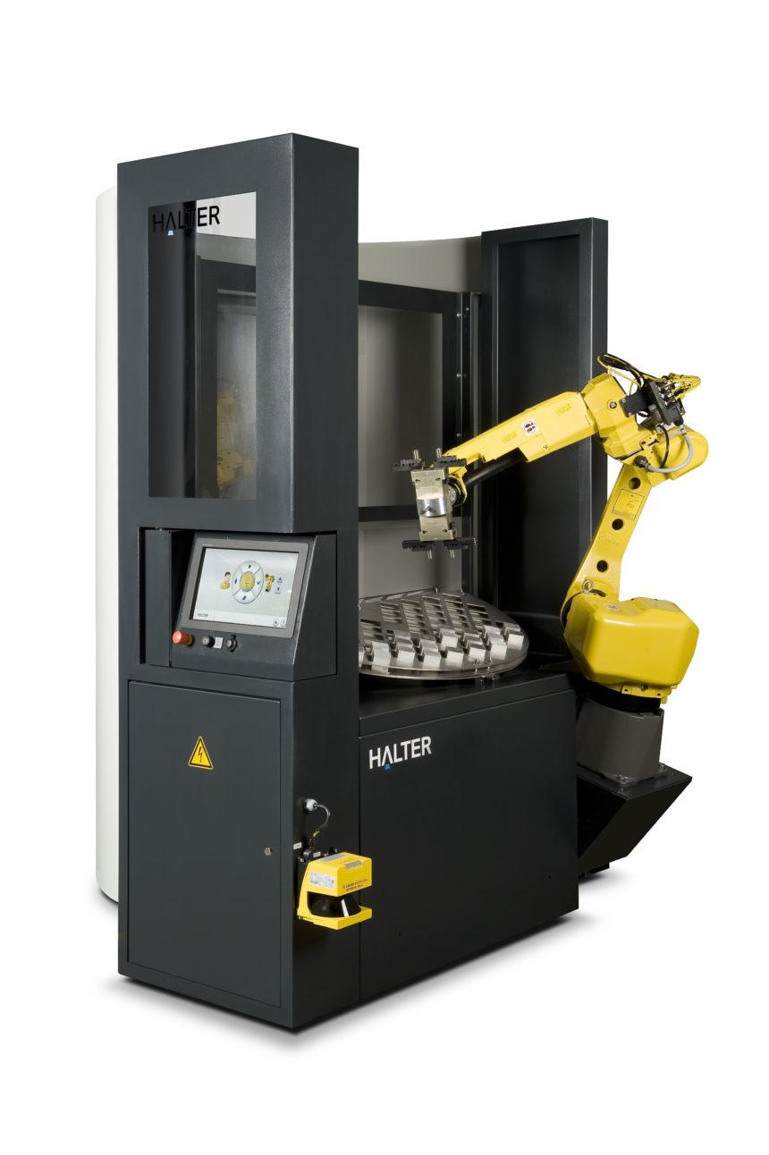 ITALMATIC y el sistema de carga robotizado para máquinas CNC HALTER LoadAssistant® en SUBCONTRATACION 19
