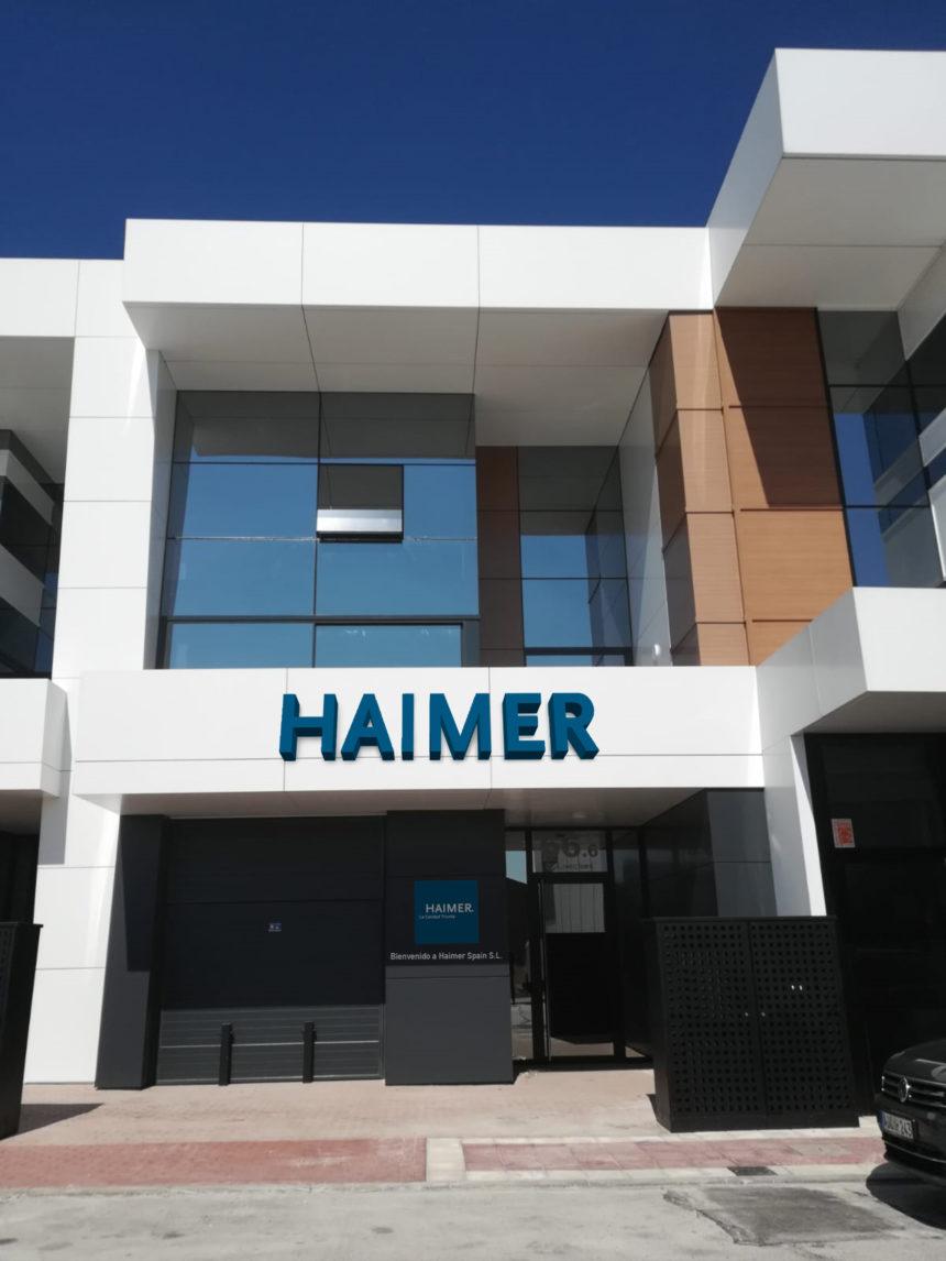 Haimer Spain se traslada a una nueva oficina con un showroom completamente nuevo
