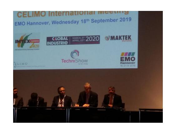 CELIMO celebra su International Meeting en la EMO de Hannover