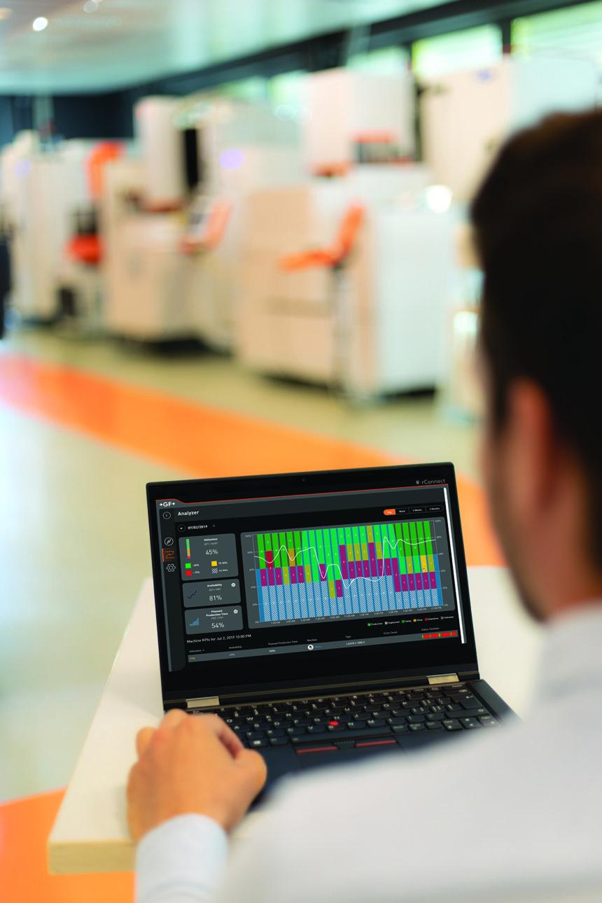 Productos digitales de GF Machining Solutions: la vía hacia el modelo de fabricación inteligente de la Industria 4.0