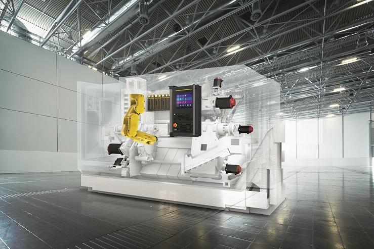 FANUC presenta en la EMO soluciones para las Fábricas Inteligentes