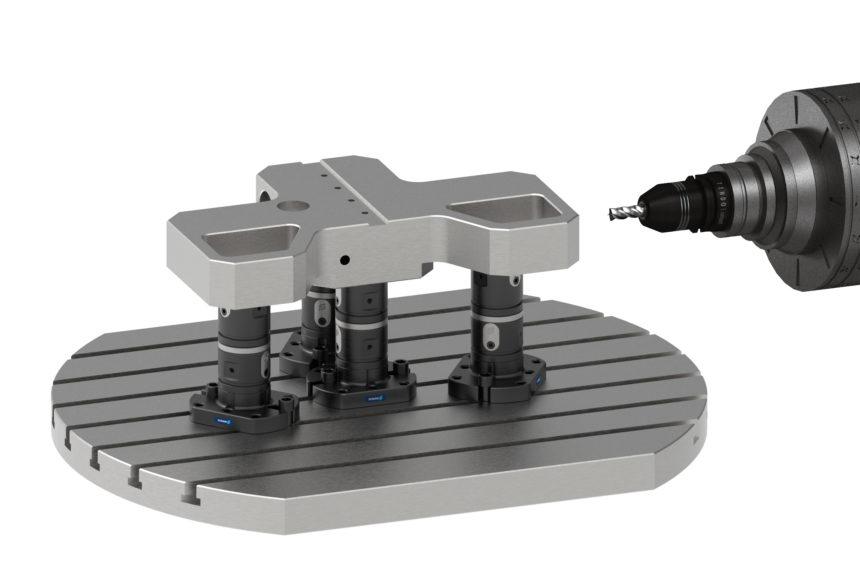 SCHUNK amplía su sistema modular para la sujeción directa de piezas en una amplia gama de aplicaciones