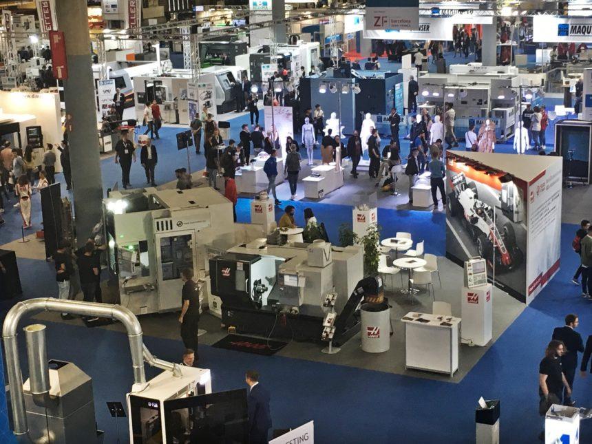HAAS participa en la primera edición de máquina-herramienta en el salón Industry Barcelona