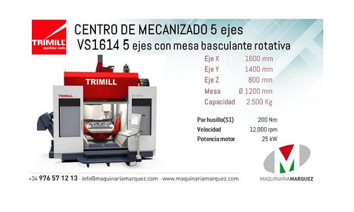 Fresadoras puente y centros de mecanizado TRIMILL