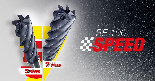 Cortes más precisos, estables y silenciosos con las fresas RF Speed de 5 y 7 cortes