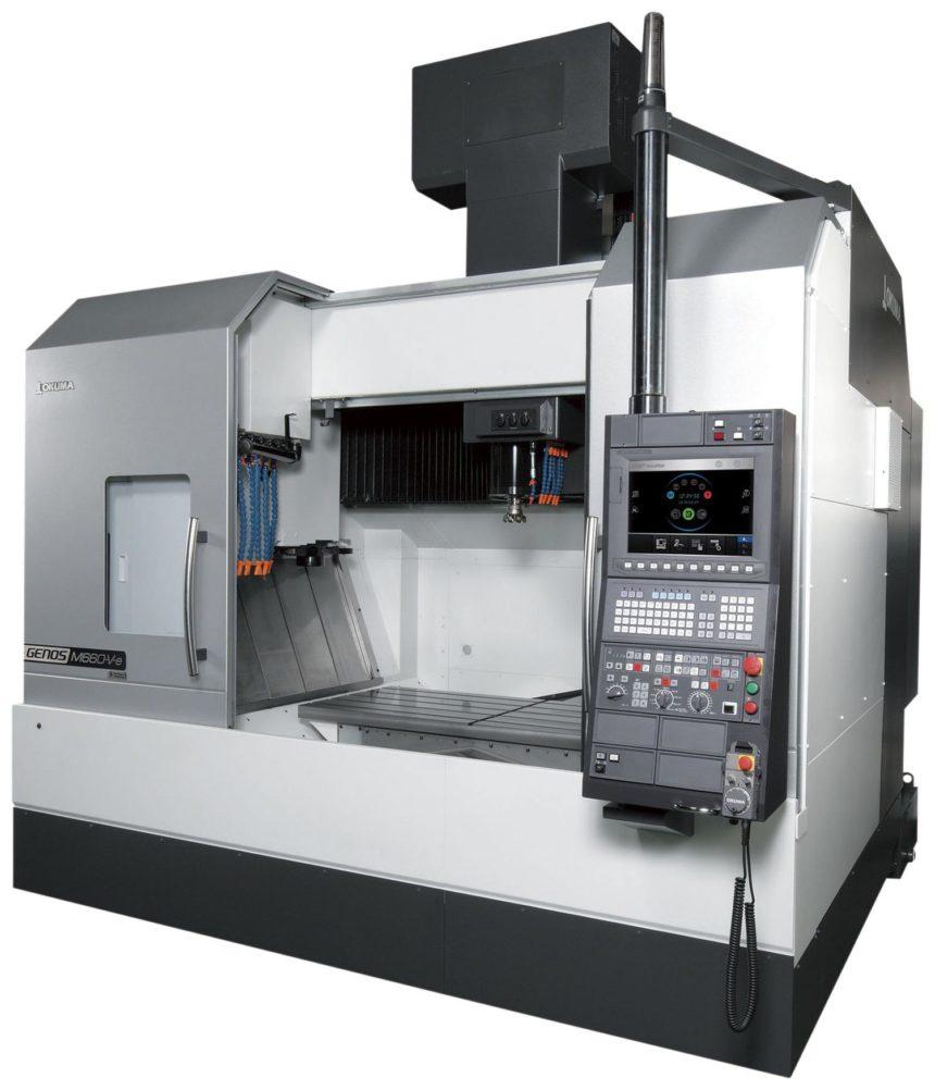 MAQcenter presenta la GENOS M660 V-E de OKUMA