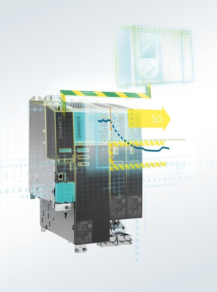Test de aceptación de seguridad guiada en los variadores de frecuencia Sinamics para una fácil validación de la máquina