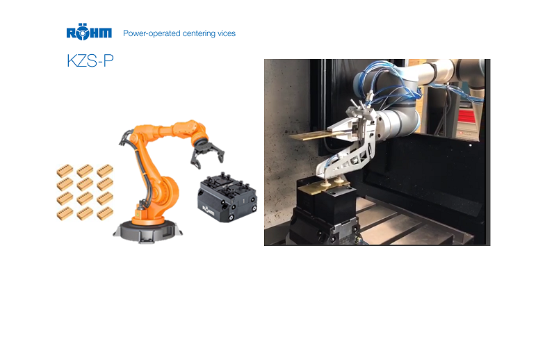 SEIKI ROBOTICS confía en las mordazas de RÖHM para una aplicación de mecanizado totalmente automatizado