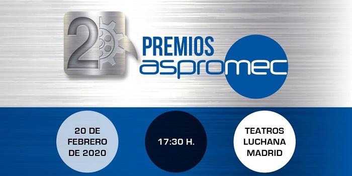 La Asociación de Profesionales para la Competitividad del mecanizado organiza los 2os Premios Aspromec