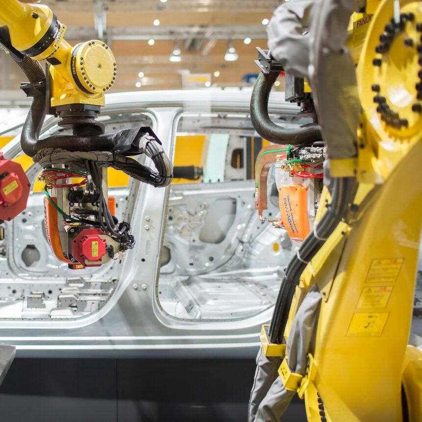 FANUC suministra 3.500 robots al grupo automotriz con sede en Munich