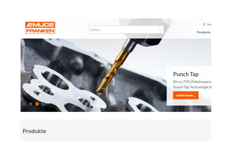 EMUGE FRANKEN lanza su nueva web corporativa