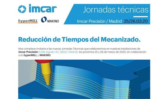IMCAR organiza unas jornadas de reducción de tiempos de mecanizado