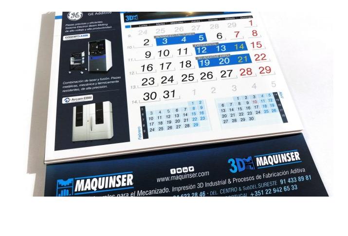 Agenda Maquinser para el mes de marzo