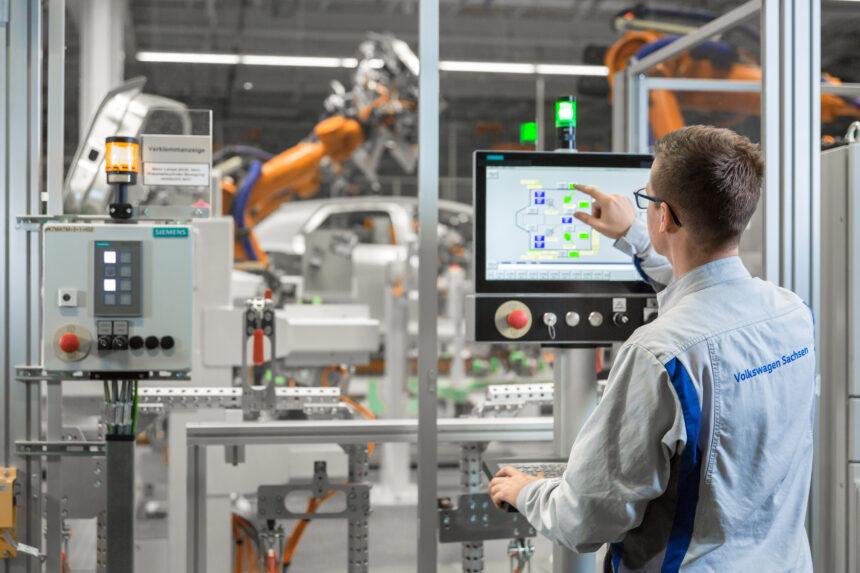 Siemens digitalizará la producción del 'E-car' de Volkswagen