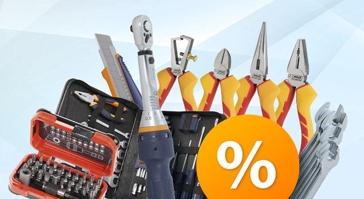 Equipe su taller con un amplio surtido de herramientas manuales