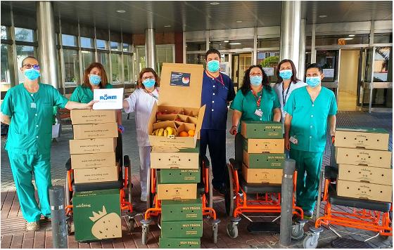 RÖHM IBÉRICA continua con la ayuda solidaria a hospitales
