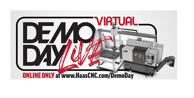 Haas Automation crea una Demo Day LIVE Virtual 2020