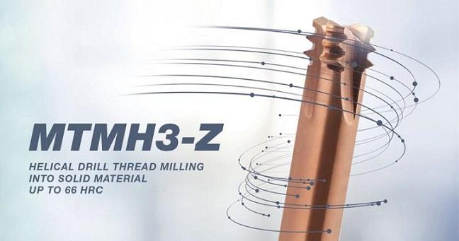 MTMH3-Z: la nueva fresa de roscar de Gühring
