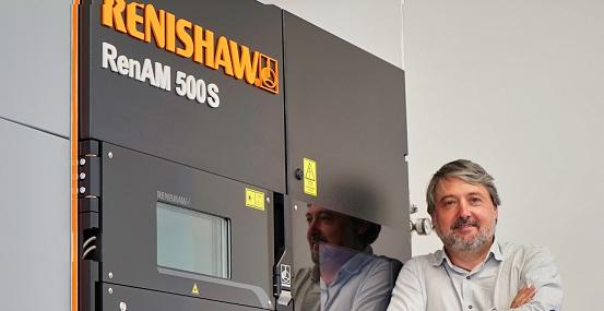 Fresdental adquiere el sistema RenAM 500S de Renishaw para la fabricación de implantes médicos