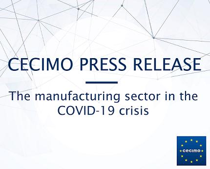 CECIMO pronostica una desaceleración significativa en 2020 y una recuperación parcial en 2021