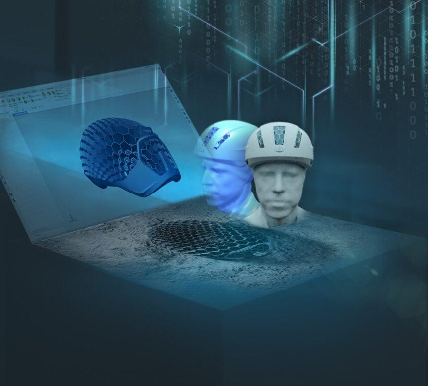 La industrialización de la fabricación aditiva permite la producción en masa de cascos personalizados