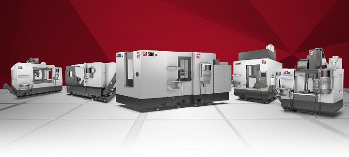 ¡Haas y su amplia variedad en máquina-herramienta!