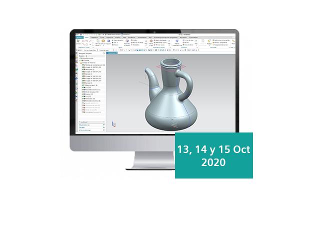 Avantek Soluciones PLM organiza un curso online sobre NX CAD para superficies avanzadas
