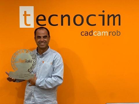Tecnocim: Mejor Distribuidor Gold Mundial de TopSolid