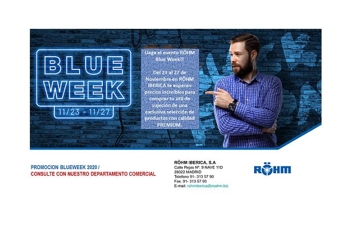 Se acerca la semana BLUE WEEK