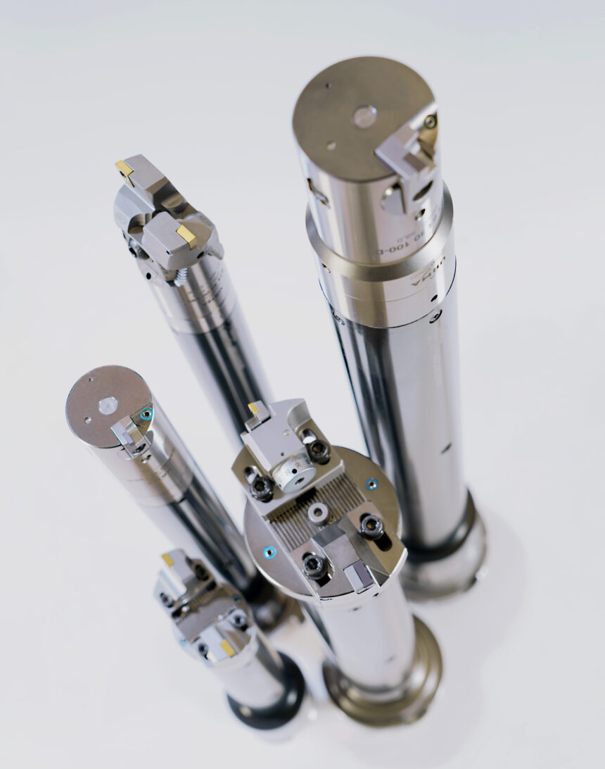 "Urma presenta un sistema de barras anti-vibratorias VAS ""Vibration-Absorving system"""