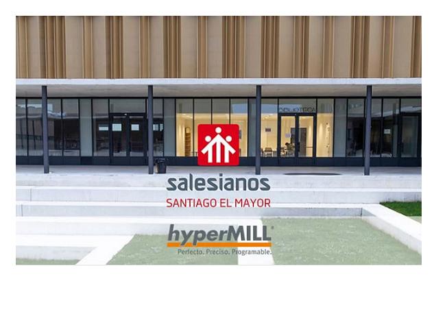 Los alumnos de Salesianos serán pioneros en formación de de mecanizado con licencias hyperMILL