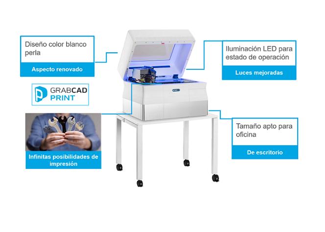 Nueva versión de las impresoras Objet30 de Stratasys