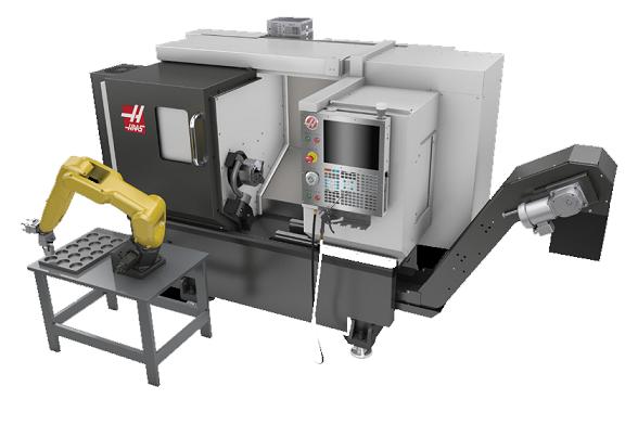 La automatización de Haas y su excelente servicio