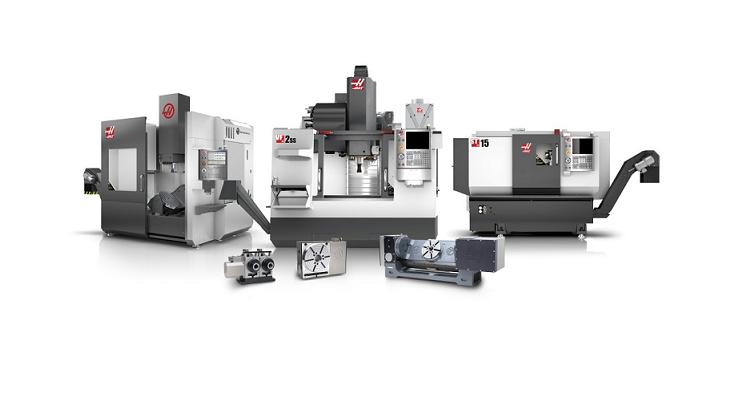 Máquinas Haas específicamente fabricadas en California