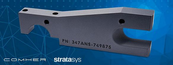 Stratasys lanza el nuevo ABS con fibra de carbono ABS-CF10