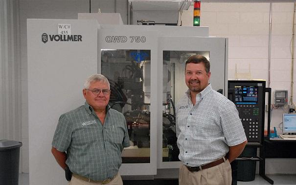 Un fabricante de herramientas de la región de los grandes lagos confia en Vollmer