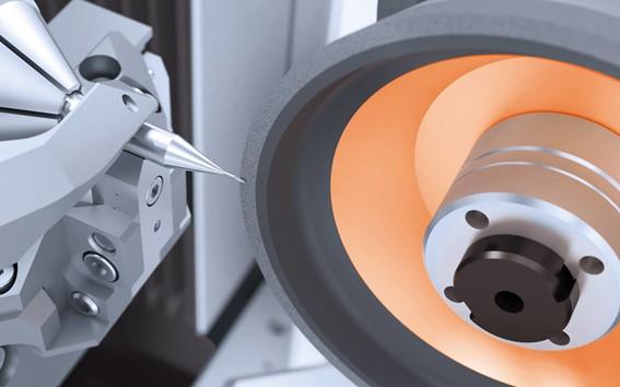 Control de la máquina de la Revista Fertigung: VGRIND 340S calificado como muy bueno