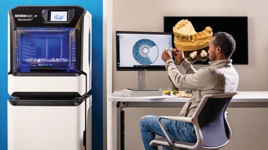 Stratasys presenta la impresora 3D J5 Dentajet destinada a atender la creciente demanda de soluciones dentales